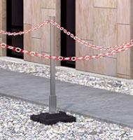 Système de balisage en toiture-terrasse technique
